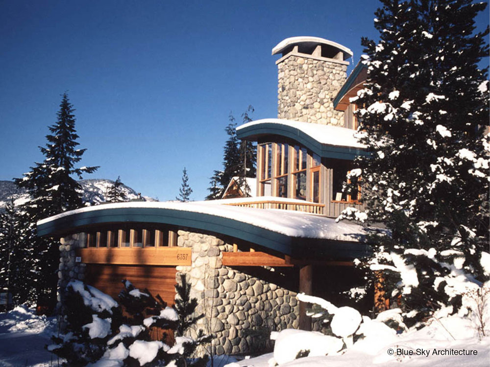 Custom Residential Design of Mountain Architecture