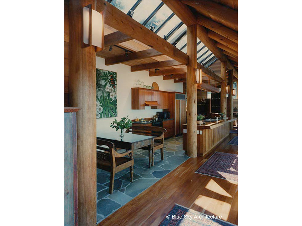 Heavy Timber Roof with Clerestory Windows