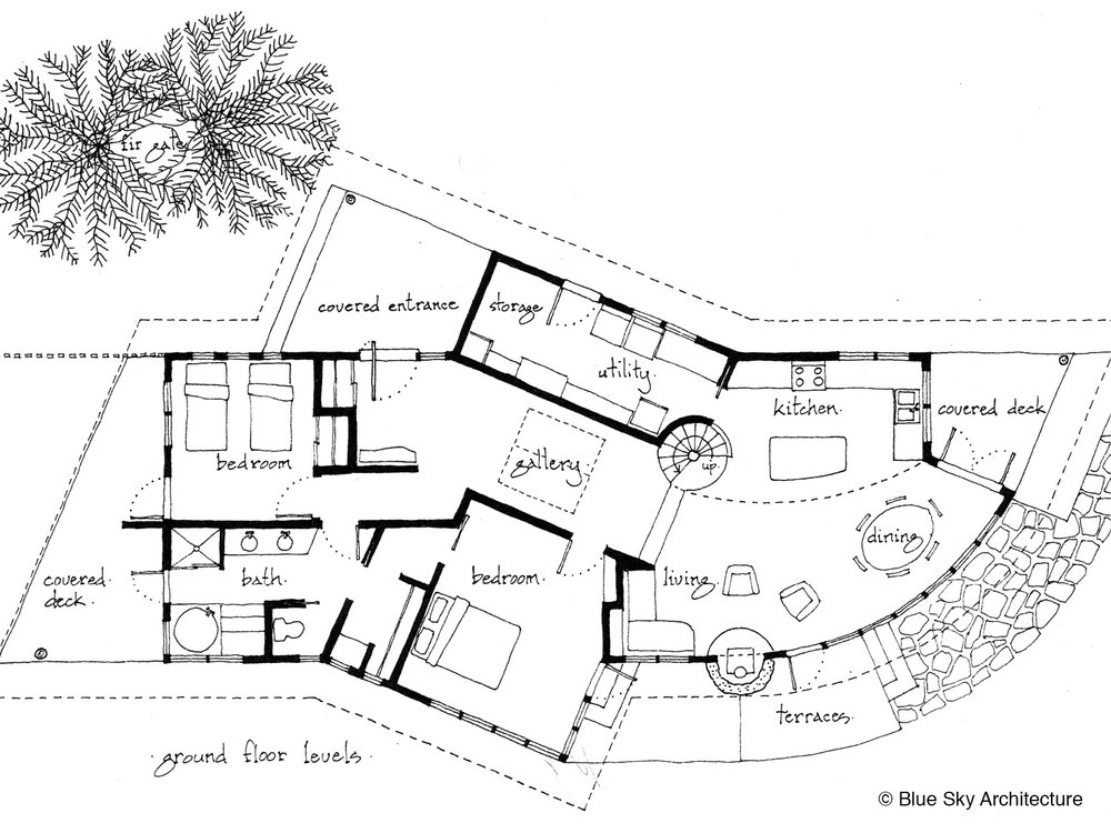Stewart House Floor Plan