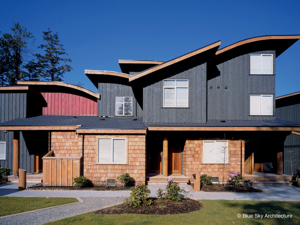 Multi Family Home with Cedar Cladding