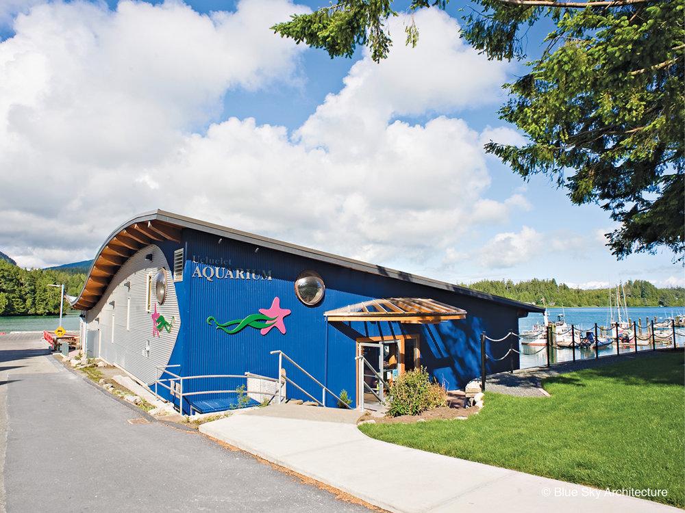 Ucluelet Aquarium front entrance