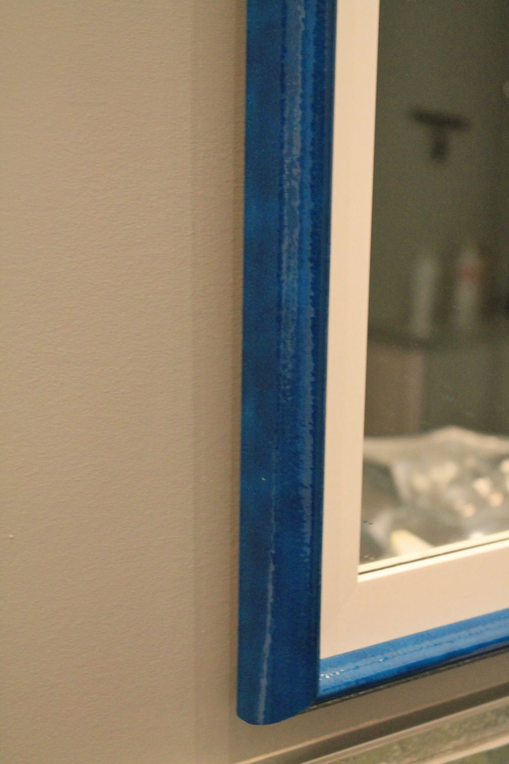 mirror frame blue.JPG