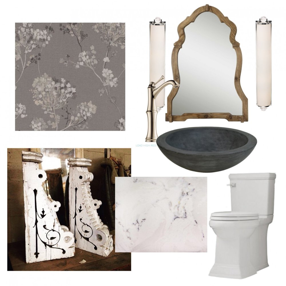 Calgary Interior Designer elegant mudroom moodboard - by Marlo Creative Interiors
