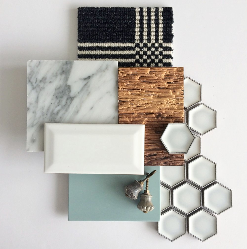Calgary Interior Designer modern country flatlay by Marlo Creative Interiors