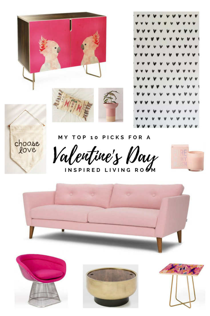 Top 10 Picks For A Valentine S Day Inspired Living Room Marlo