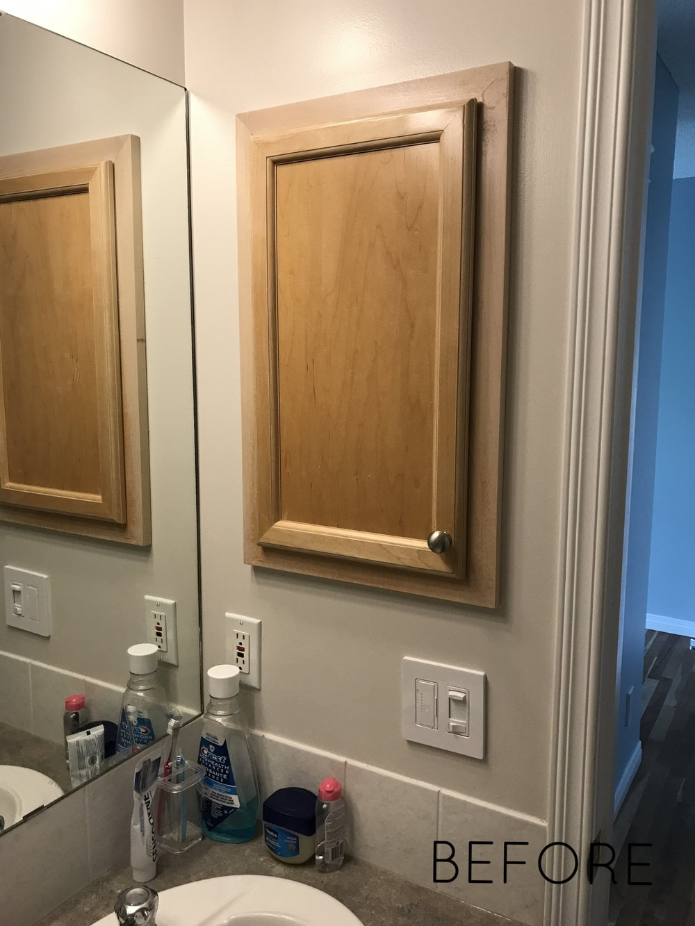 Calgary Interior Designer - bathroom renovation before