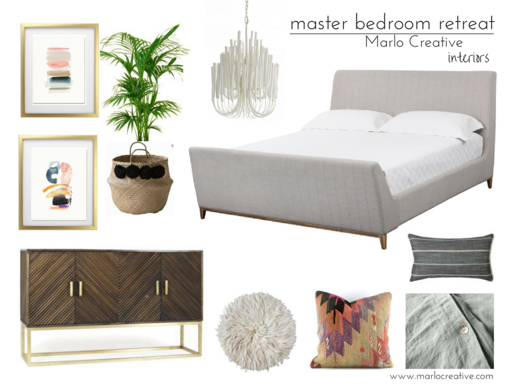How To Create a Master Bedroom Retreat — Marlo Creative Interiors ...