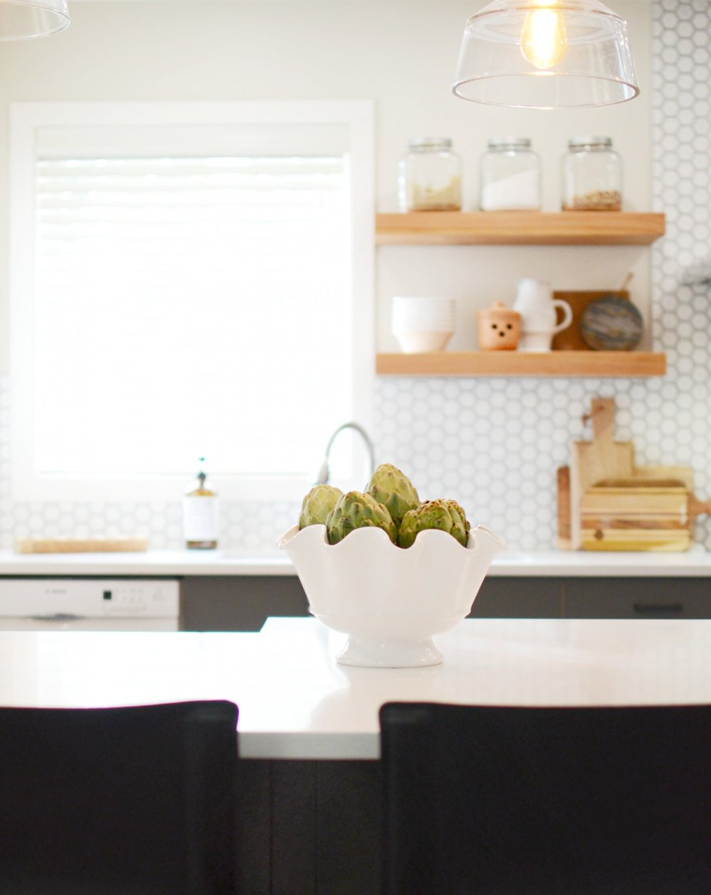 Modern Farmhouse Kitchen   Marlo Creative Interiors   Calgary Interior Designer