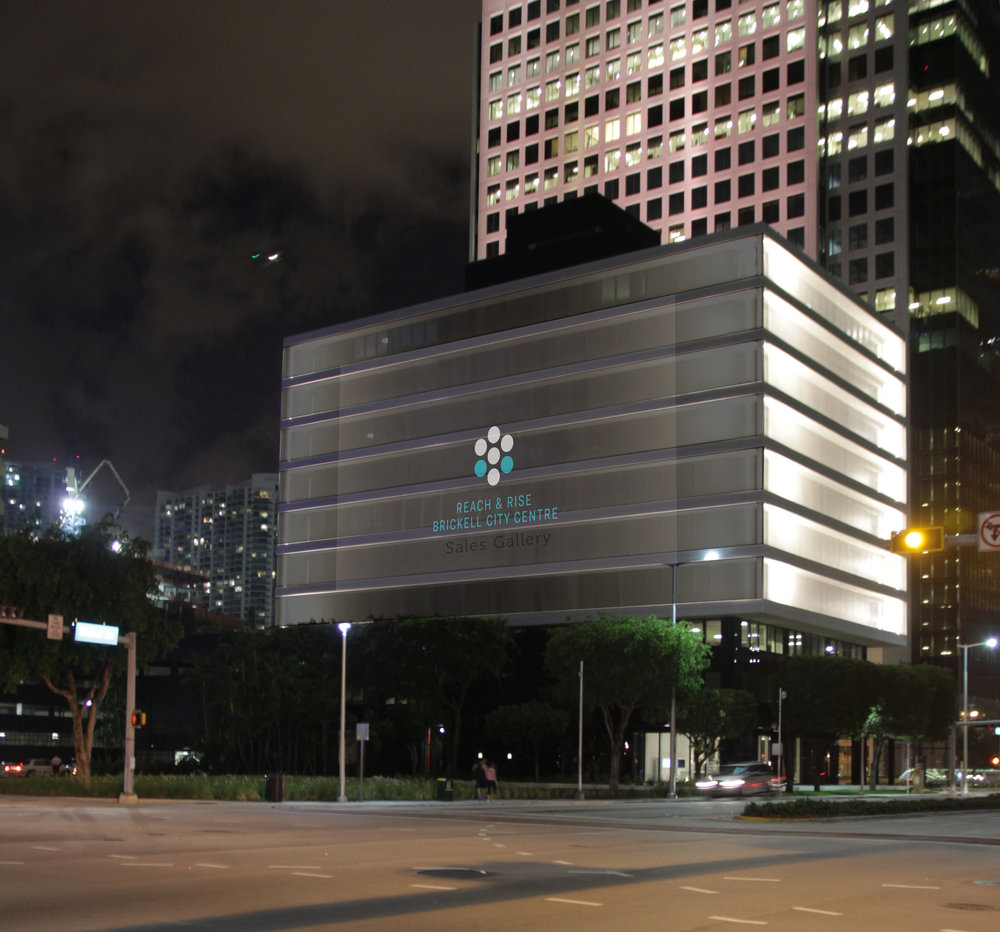 BRICKELL CITY CENTRE SALES GALLERY  click to view