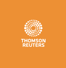 "<span style=""color:#ed9034"">THOMSON REUTERS</span>"