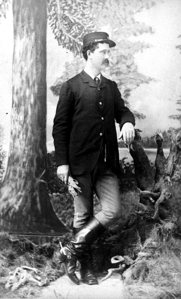 John Kirkup, photo courtesy of  BC Archives.