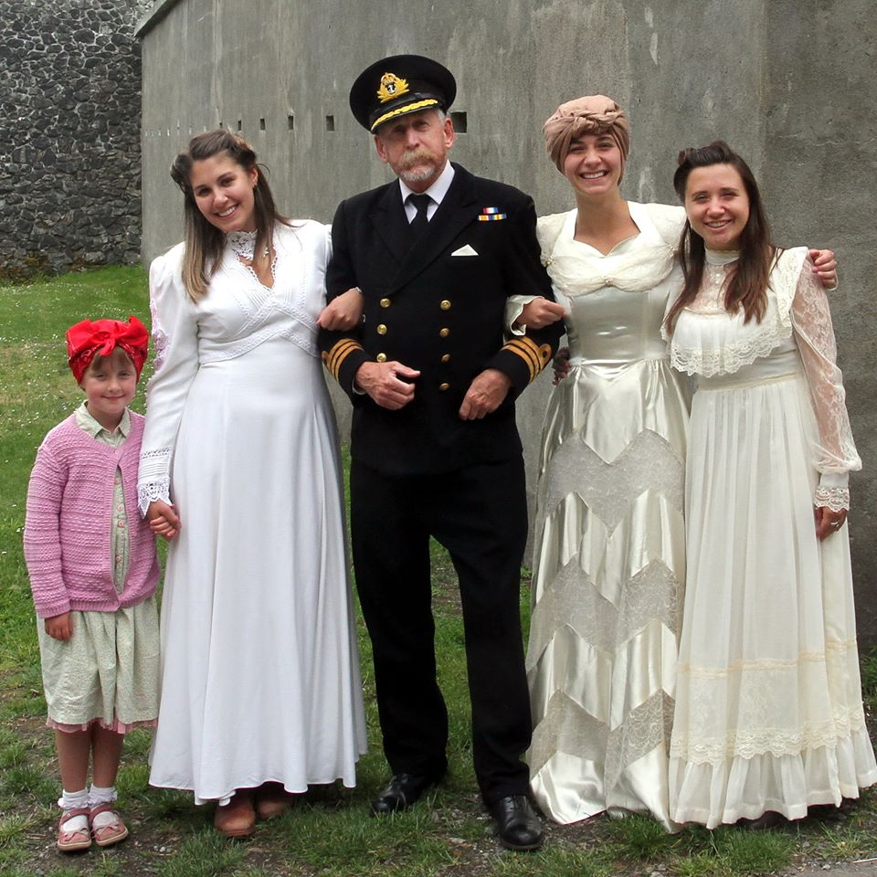 A Dashing Naval Captain has too many brides to choose from...