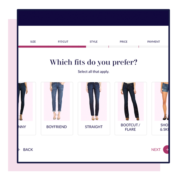 Humanizing Redenim's Onboarding Process. - See how I redesigned a style questionnaire for a PaaS (Pants as a Service) startup in Austin, TX.