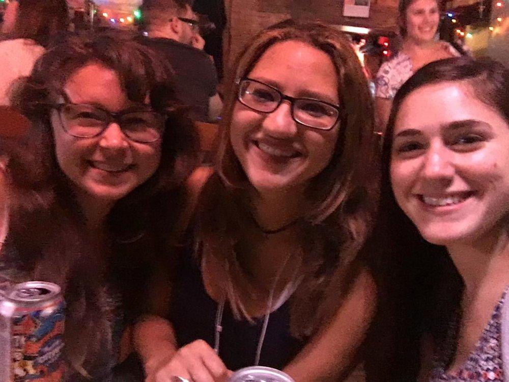 Me, Bridget, and Dani