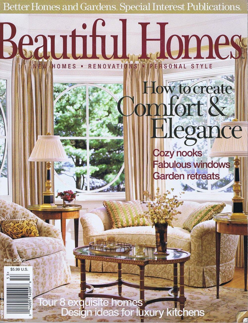 Beautiful Homes, Fall 2005