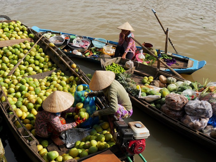 From one of her most recent articles on the Mekong River in Vietnam.