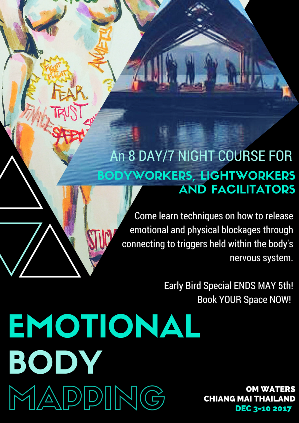 Learn how to heal your own physical and emotional pain this December in Thailand!! For more info go to the home page OR schedule a FREE breakthrough session today!