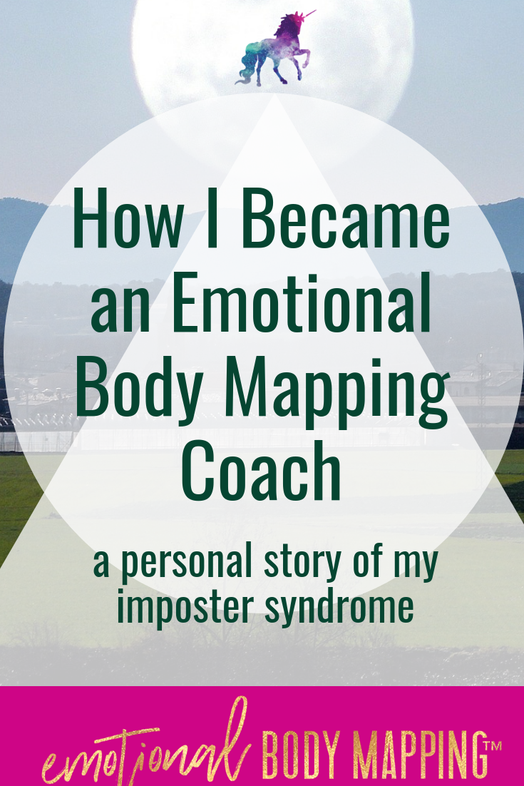 Imposter Syndrome Emotional Body Mapping