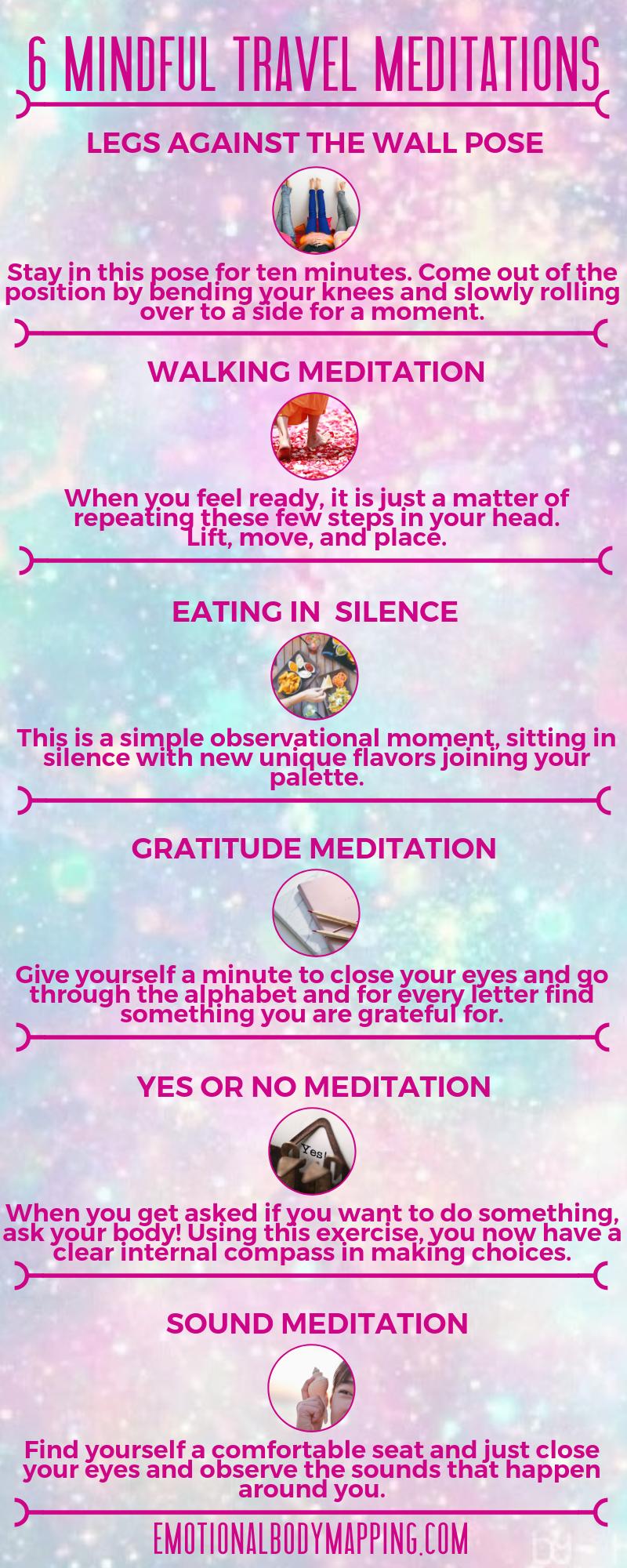 6 mindful travel meditations