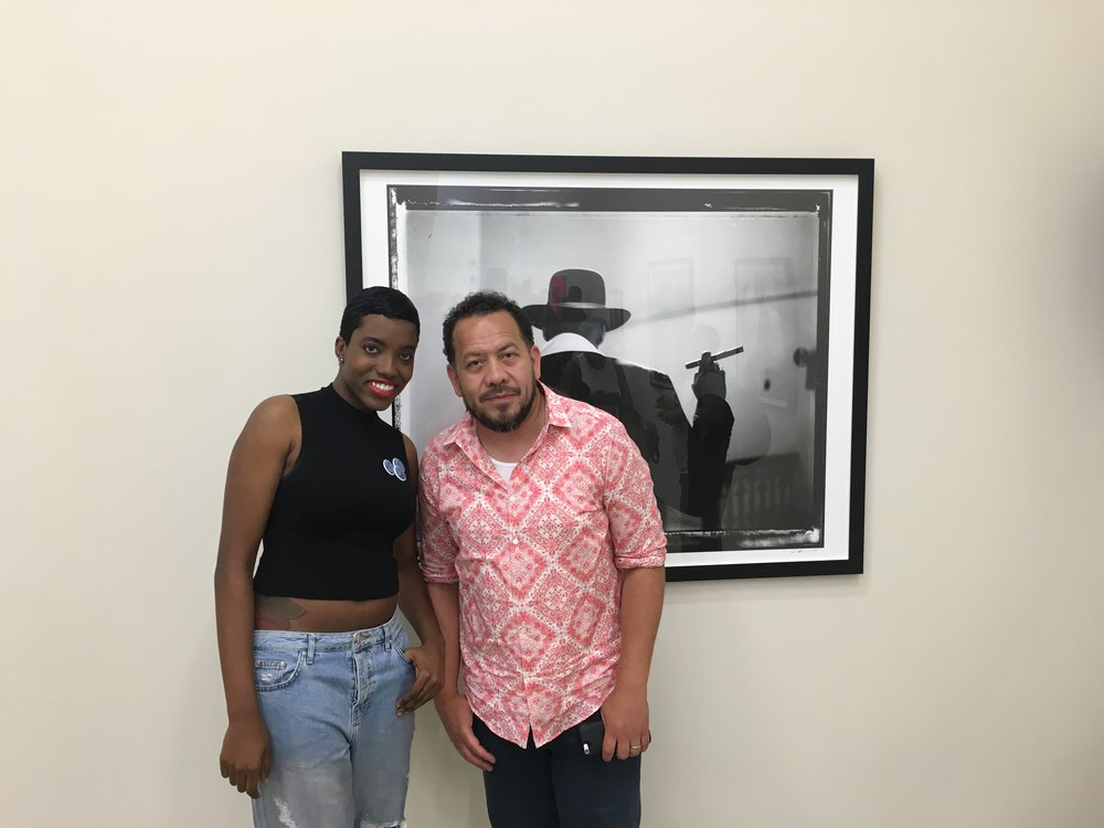 STAY HUNGRY Founder Syreeta Gates with Elliot Wilson