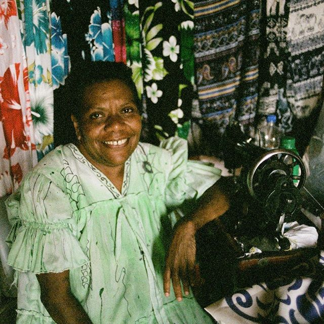 A vendor at the Port Vila Market in Vanuatu. She uses the hand powered singer sewing machine to make all the clothes she sells. Shot with Fujifilm Natura 1600 using Pentax ME Super camera. . . .#portvila #vanuatu #portvilamarket #sewing #singersewingmachine #classicsingersewingmachine #shoplocal #localmarket #handmade #mumu #pacificisland #traveltheworld #wanderlust #filmisnotdead #pentaxmesuper #ishootfilm #fujifilmnatura1600 #kristofferglennimagery #kristofferpfalmer #pfalmer #renophotographer