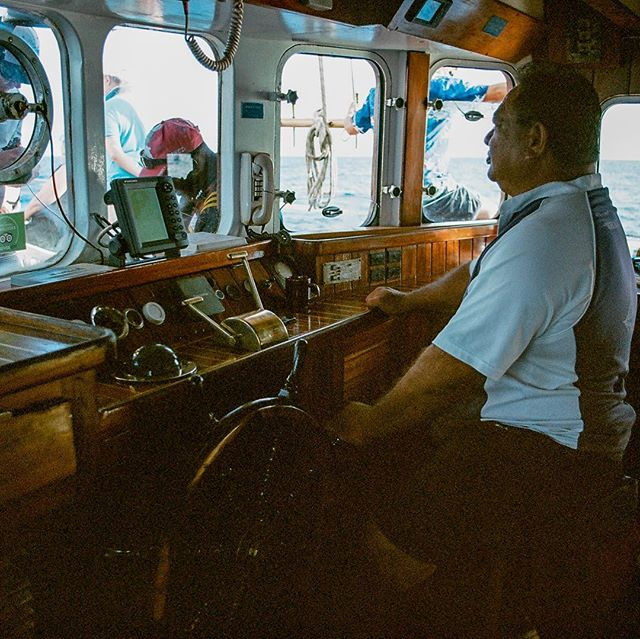 "Analog shot of the captain of the Schooner ""Whales Tale"" in Fiji. Minolta X-700 shooting Kodak Ektar 100. . . .#whalestale #fiji #nadi #denarau #sailing #boss #sail #pacific #oceana #daycruise #traveltheworld #wanderlust #analog #filmisnotdead #ishootfilm #kodakphoto #ektar100 #minoltax700 #kristofferpfalmer #kristofferglennimagery #pfalmer"