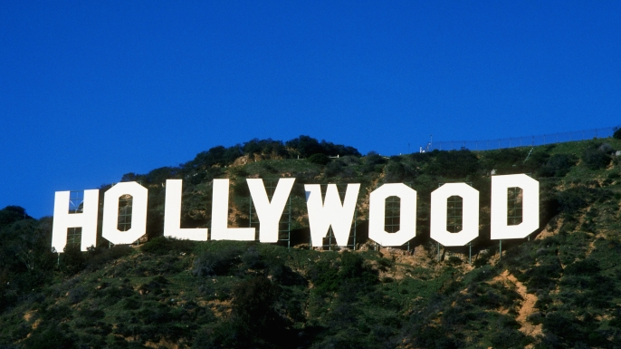 """Under """"Y"""" of Hollywood Sign"""
