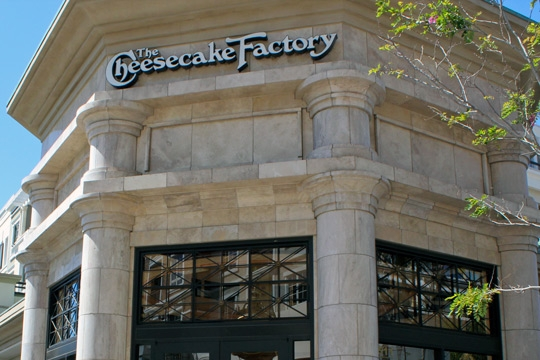 Cheesecake Factory at The Americana