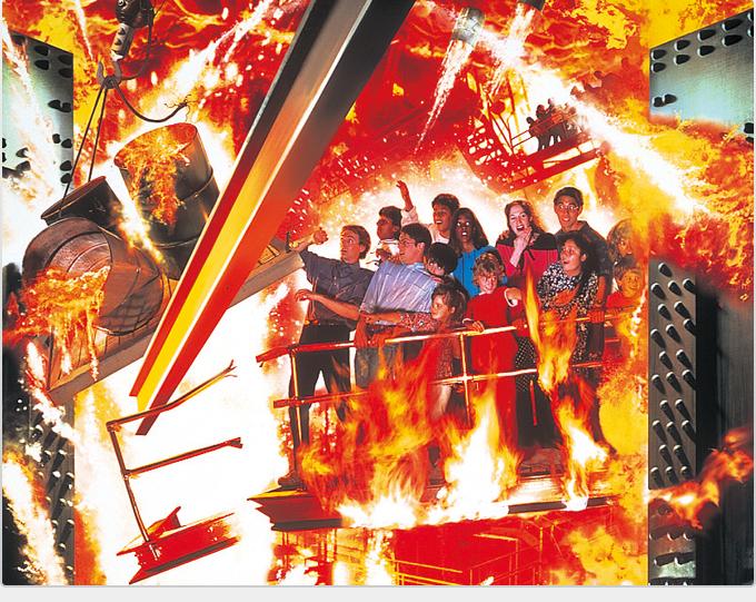 Abandoned Backdraft Ride at Universal Studios Hollywood