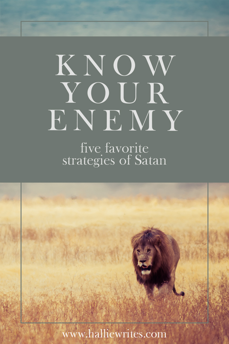 Do you know Satan's top five strategies to leave you discouraged and defeated? Here's how to recognize them.