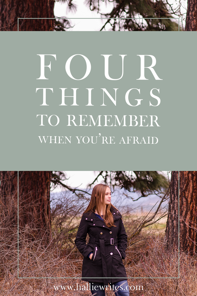 "C. S. Lewis said, ""No one ever told me that grief felt so like fear."" Fear is hard in any season, but especially when you're in pain. Here are four things I've been trying to remember as I grieve."
