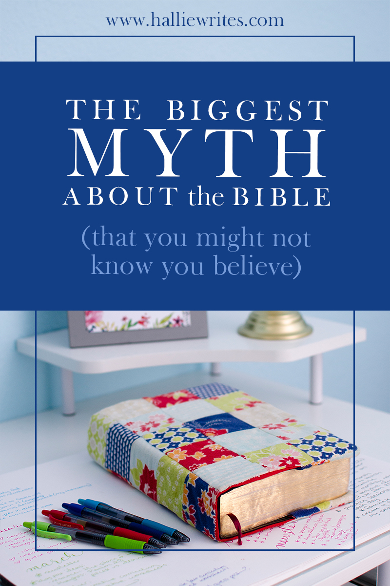 Do you believe the biggest myth about the Bible? Often we assume that the Bible is a moral code for Christians - but that's not true.