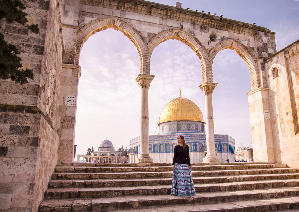 One of my favorite places in Jerusalem is the Temple Mount. The whole city holds so much to learn!