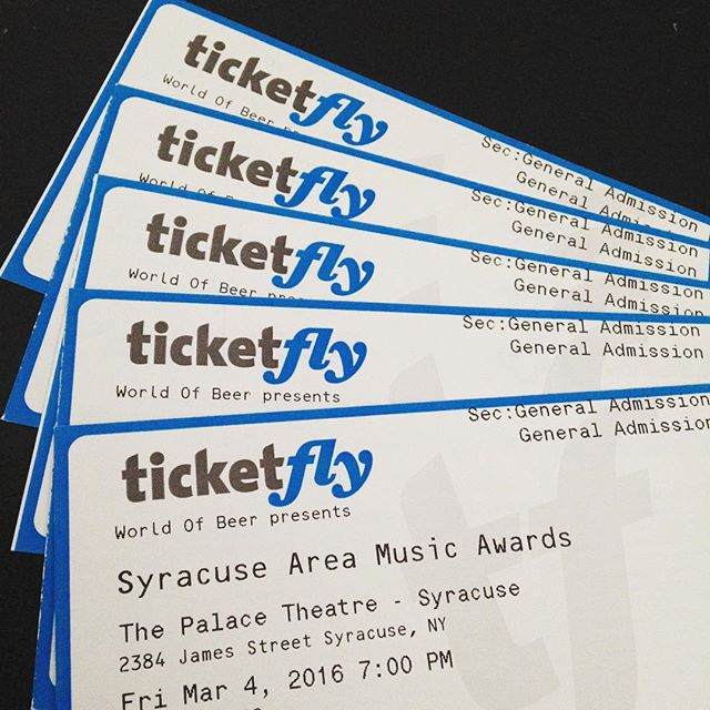 "Nominated for ""Best Rock"" at the Syracuse Area Music Awards on Friday night!"