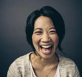 Just by watching Vibe Founding40 member and social business coach  Anna Choi  laugh (a huge laugh from a tiny being) you, too, can light up a room.