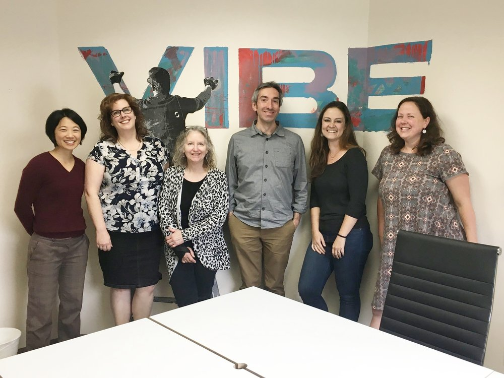 The Vibe partnered-powered series  Social Entrepreneurs Unite!  is led by  Anna Choi . Bring a friend and join us on the 1st Friday of every month from 9:30-10:30am.