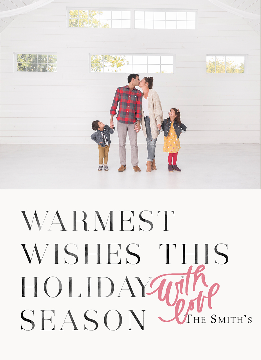 Warmest Wishes FRONT Card 1