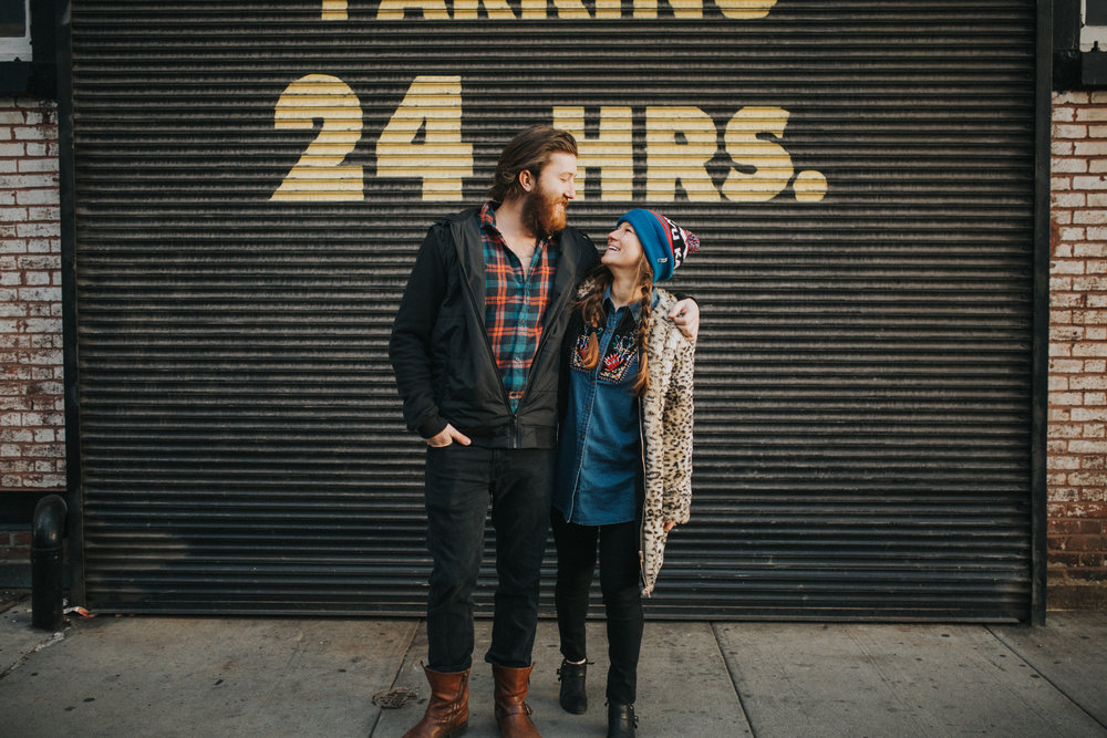 Hipster Brooklyn Engagement Shoot