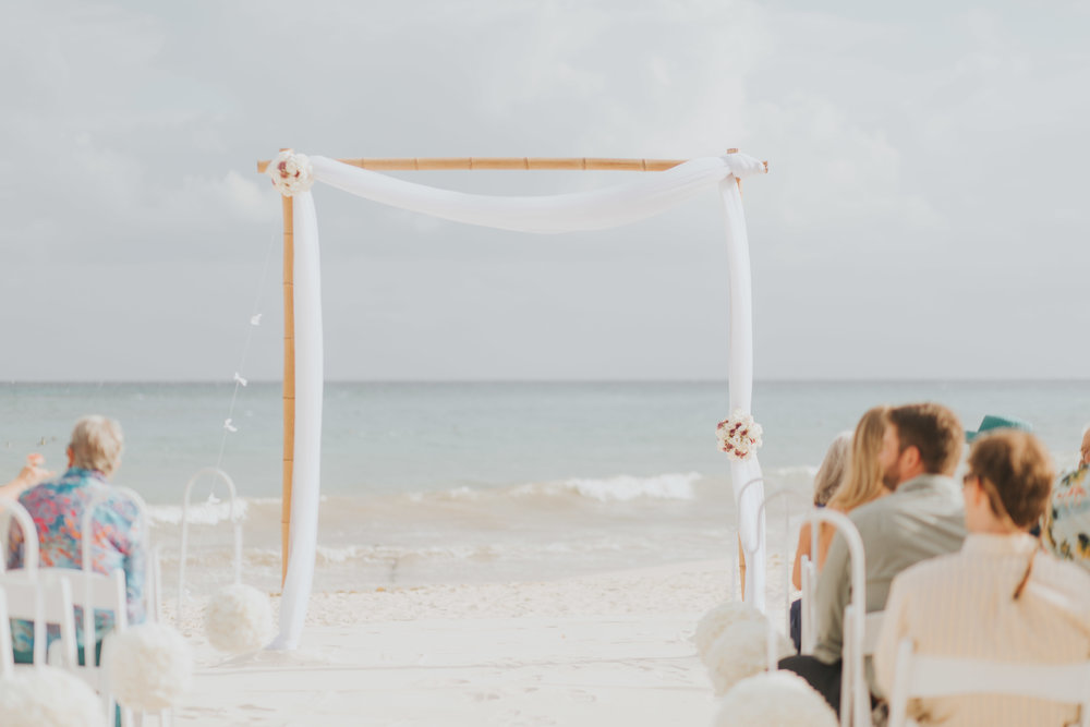 Wedding at the Playacar Palace in Mexico