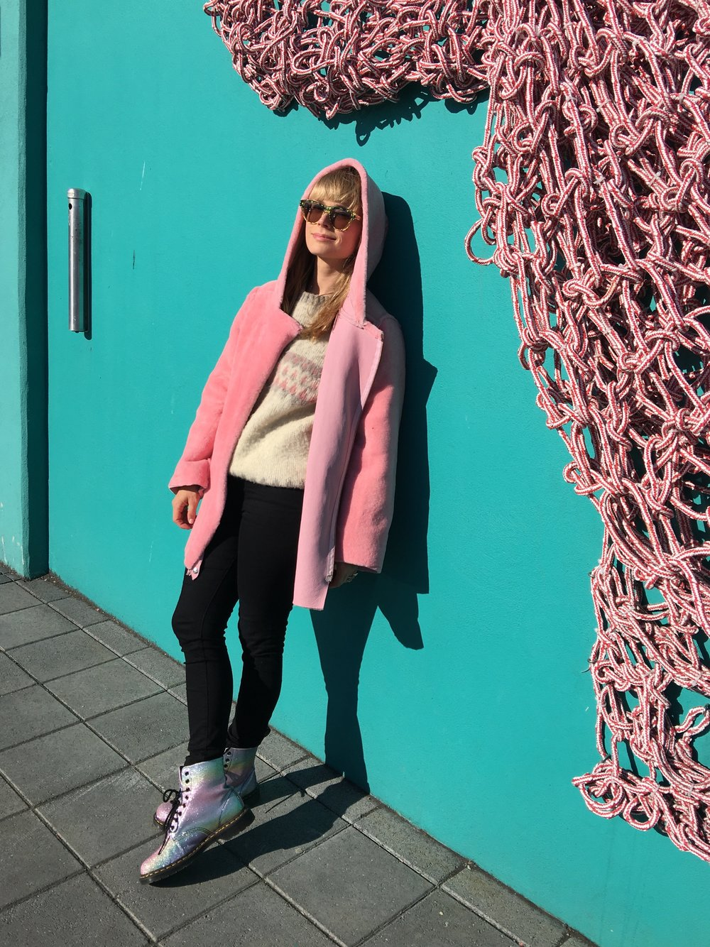 """""""I liked the look so much I wore it myself once back in Reykjavik with black jeans.The rule here is crystal clear: there are no rules."""""""