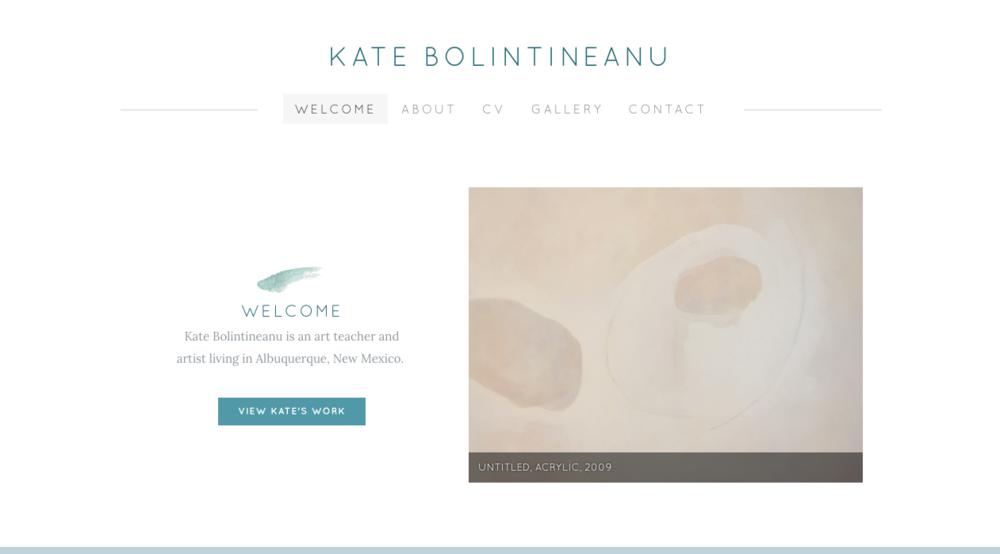 Kate Bolintineanu - Portfolio