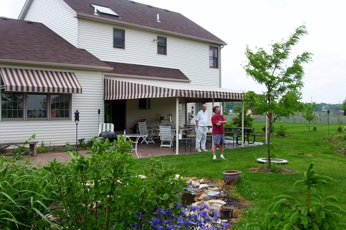 Residential Patio Awnings For The Cleveland Oh Area Cei Awnings