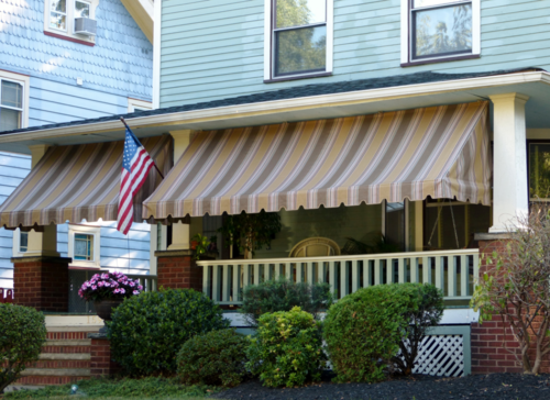cei awning custom residential porch awnings cei awning the