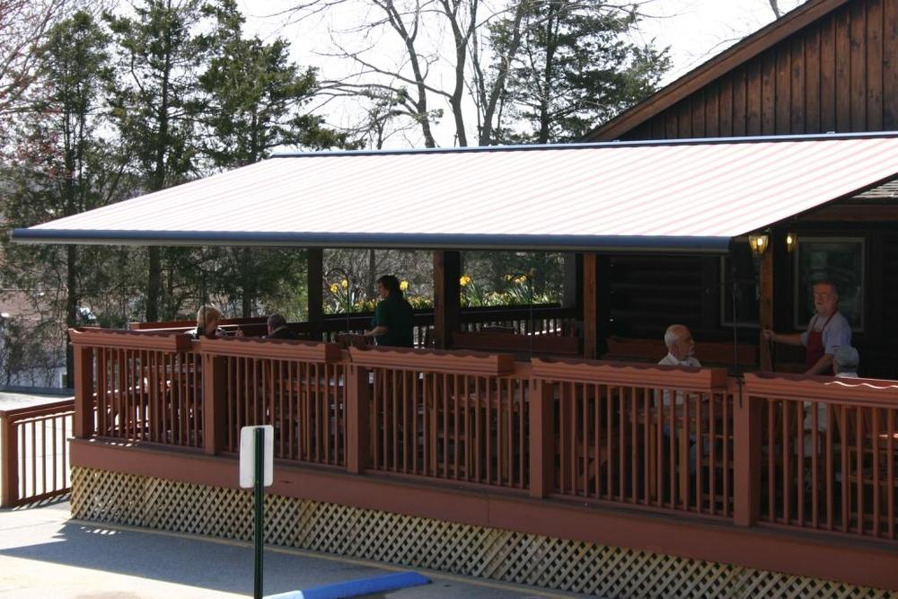 NuImage Pro Retractable Commercial Awning
