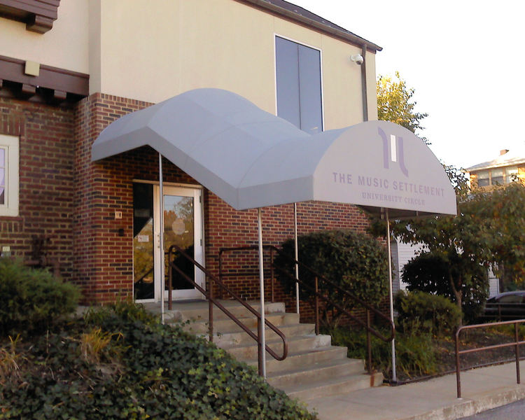 Stairway Entrance Canopy Awning