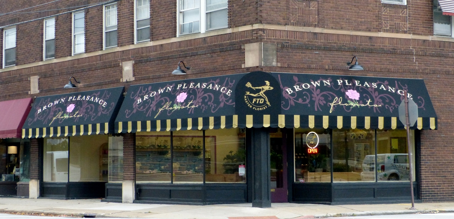 Standard Awning With Painted Graphics