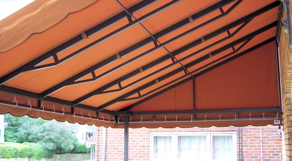 Year Around Wall Mount Awning: Inside View