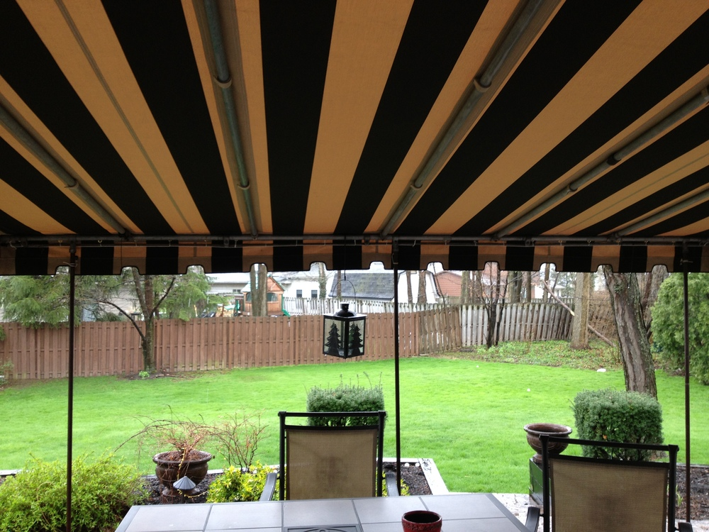 residential patio awning cei awning the canvas exchange inc
