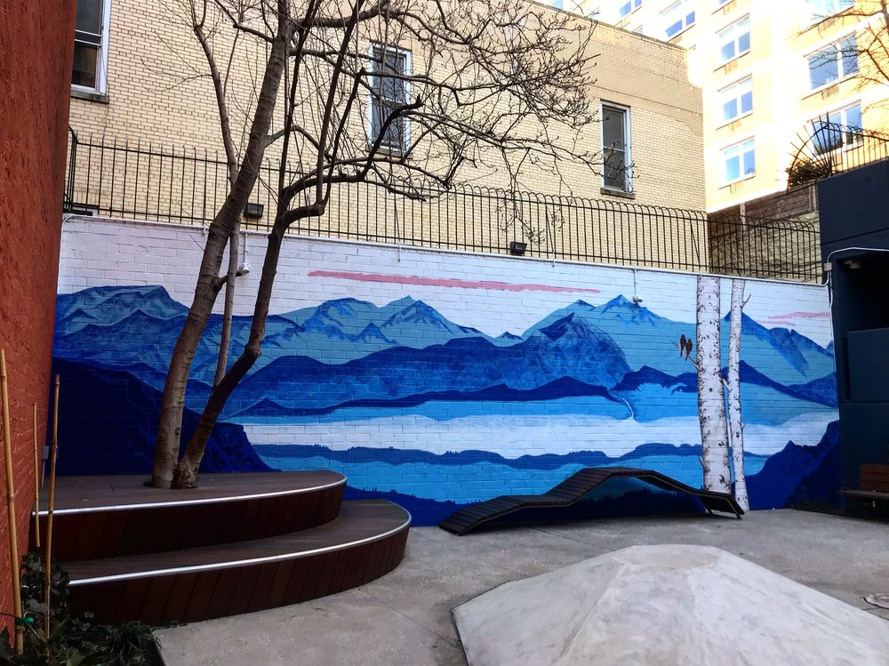 Mountain Mural Midtown