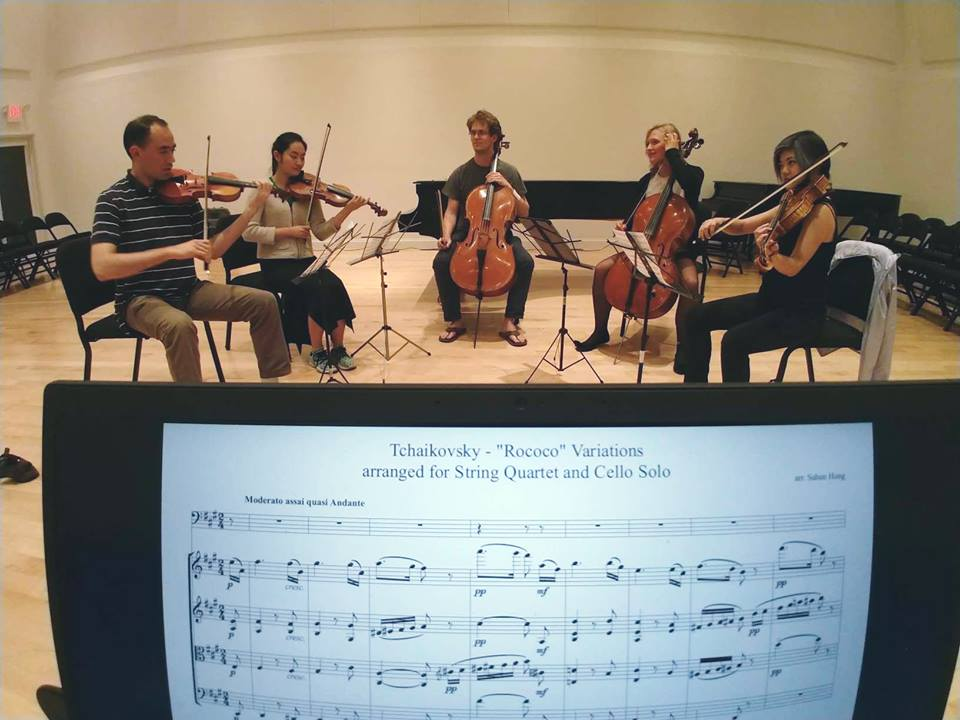 A different type of reading — chamber music sight reading — that has nothing to do with this except that I stumbled upon this photo this past week and I cherish sight-reading with some of my favourite people just as much as I love exploring unchartered territory in literature :)